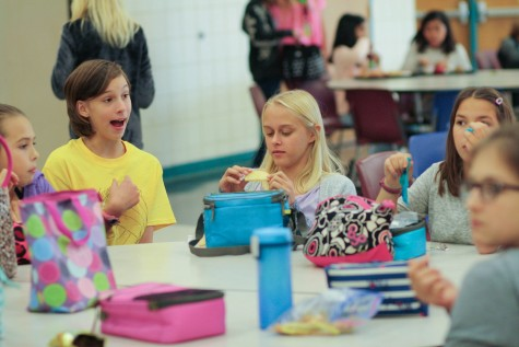 Students Question Lunch Rule