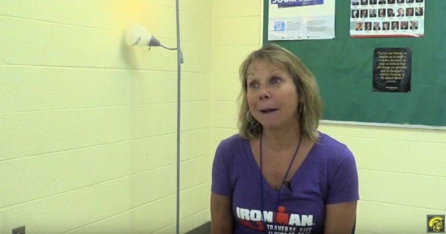 EMS Teacher Ms. Phillips Completes the Ironman