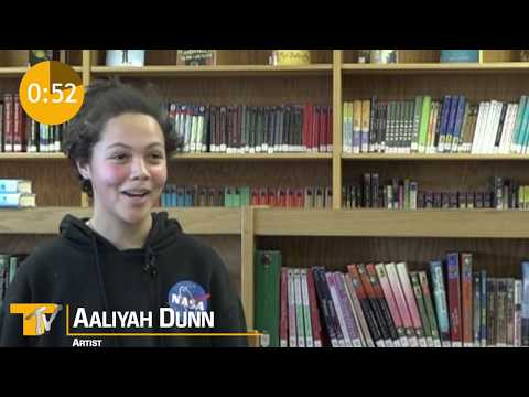 Aaliyah Dunn Art Personality Profile | 60 Second Stories
