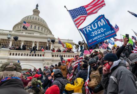Protest Turns Violent & People Storm Capital