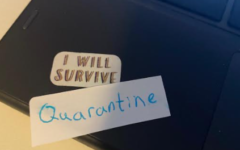 There have been many challenges that the world has faced this year, many things that we have had to survive, and COVID-19 is arguably the biggest, a message this computer stickers communicate.